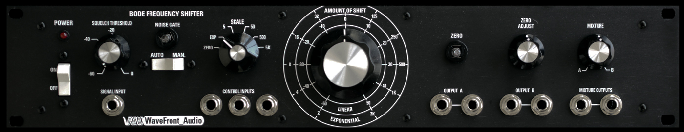 Bode Frequency Shifter Wavefront Audio
